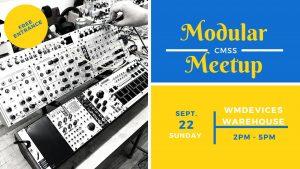 Colorado Modular Synth Society September Meetup @ WMDevice