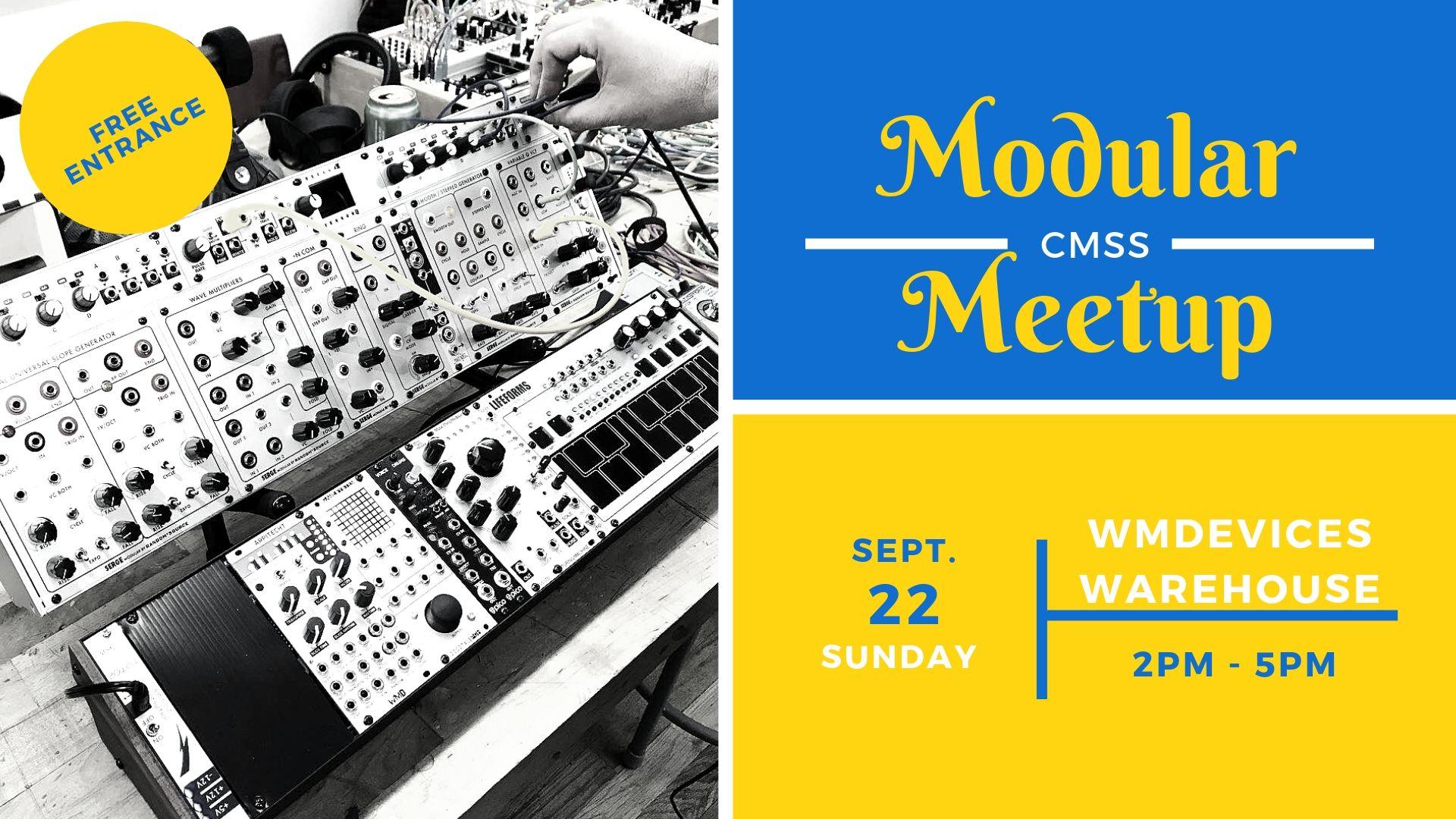 September meetup info for colorado modular synth society
