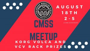 Colorado Modular Synth Society August Meetup @ WMDevice